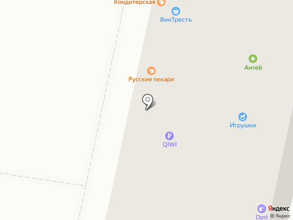 Магазин кондитерских изделий на карте Иваново