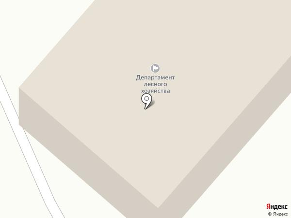 Костромское лесничество на карте Костромы