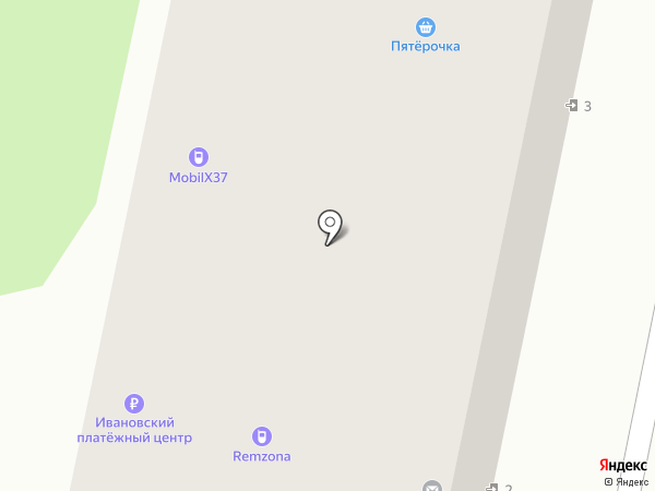 Фауна на карте Иваново