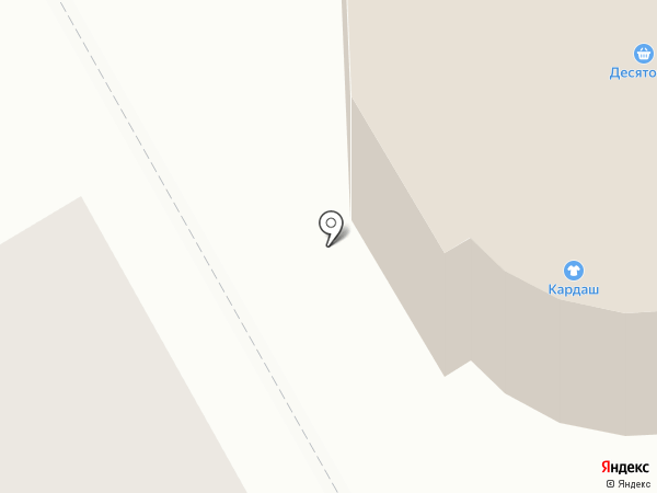 МАРАФФЕТ на карте Костромы