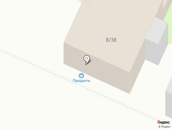 Продовольственный магазин на ул. Якова Гарелина на карте Иваново
