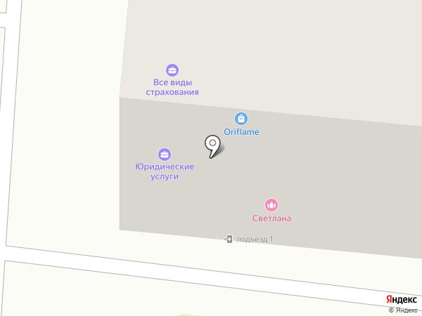 Светлана на карте Костромы