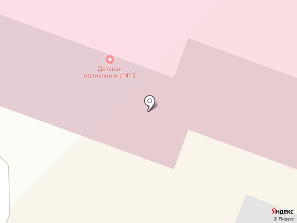 Детская поликлиника №8 на карте Иваново