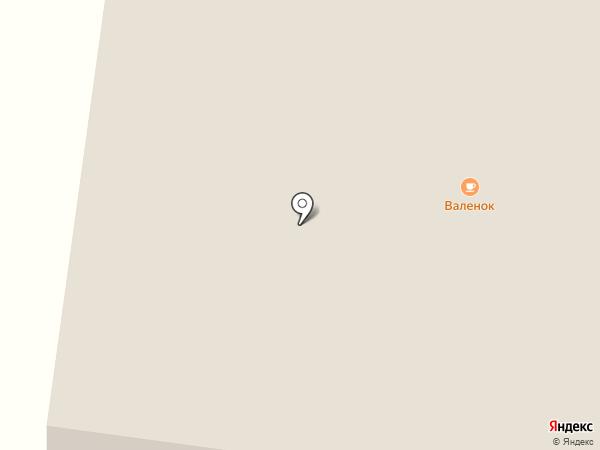 Валенок на карте Апраксино