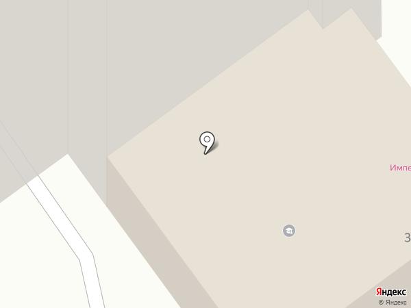 Силуэт на карте Иваново