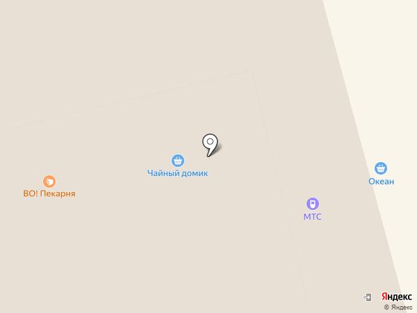 Вектор на карте Костромы