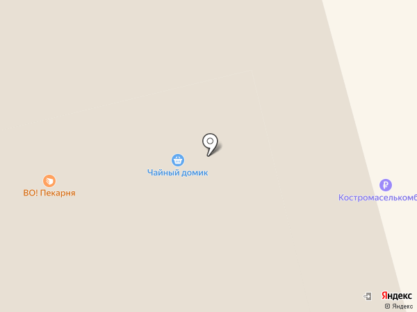 Территория обуви на карте Костромы