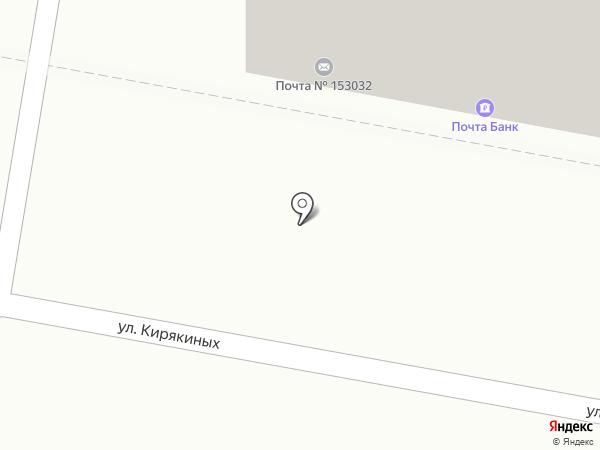 Почтовое отделение №32 на карте Иваново