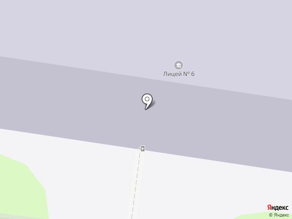 Лицей №6 на карте Иваново