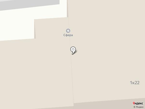 Серебряная нить на карте Иваново