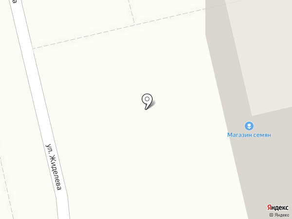 Магазин мясной продукции на карте Иваново