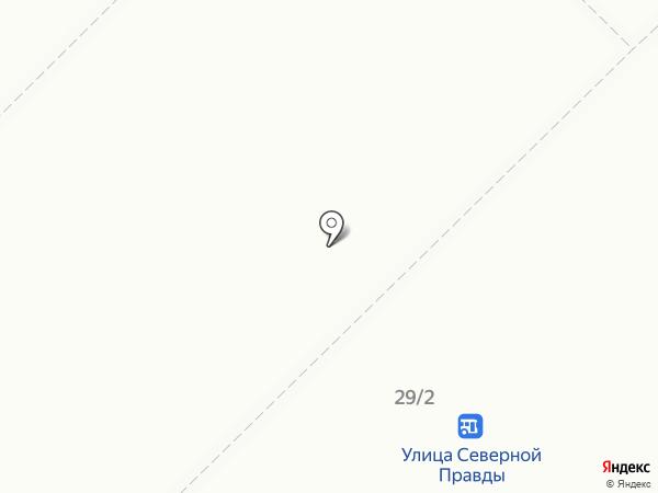Птицефабрика Волжская на карте Костромы