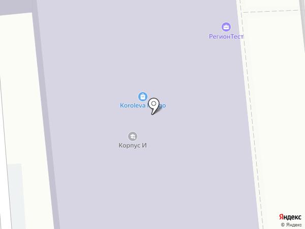 РегионТест на карте Иваново