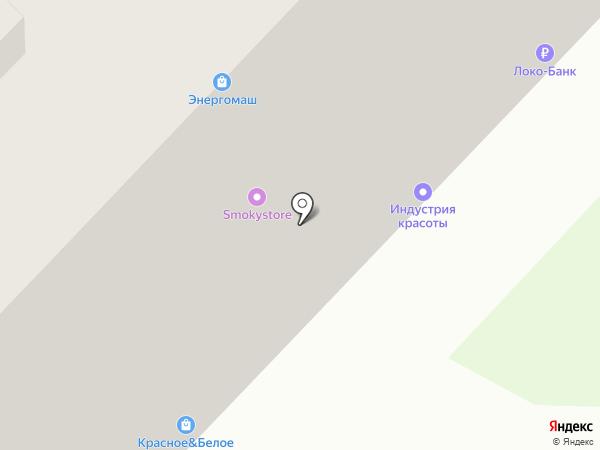 Индустрия красоты на карте Иваново