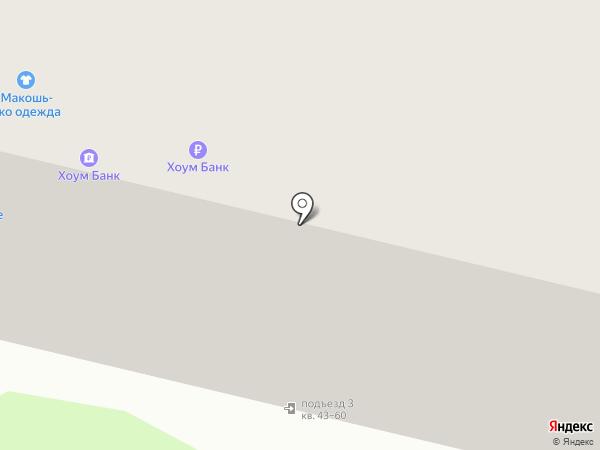 Банк Хоум Кредит на карте Костромы