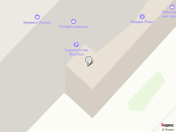 Мастерская-ателье Василия Сафонова на карте Иваново