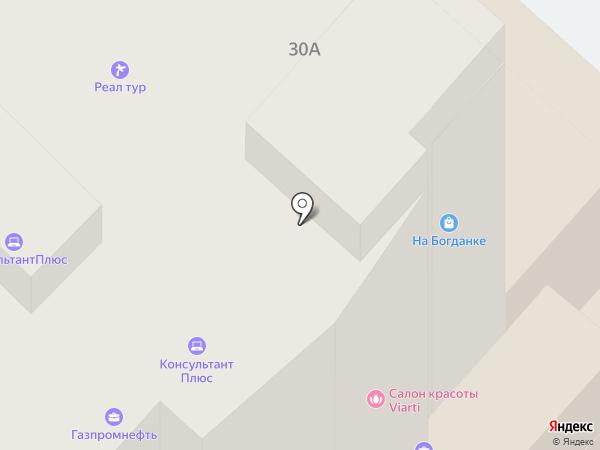 На Богданке на карте Иваново