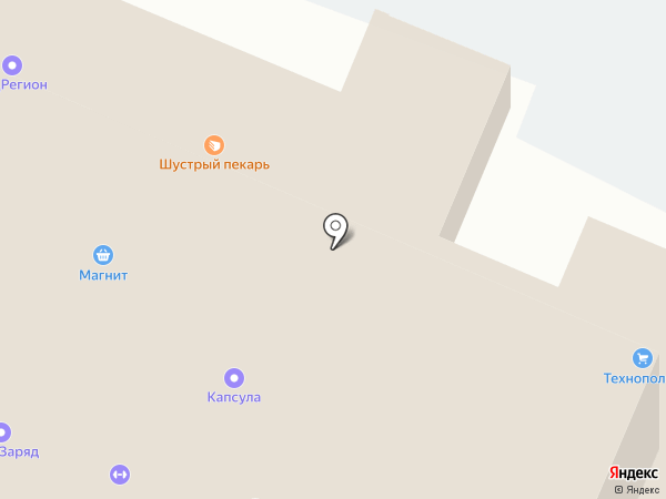 Берег44 на карте Костромы