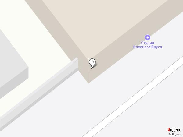 Студия клееного бруса на карте Иваново