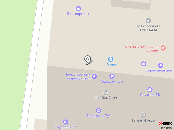 Раздолбай-Сервис на карте Иваново