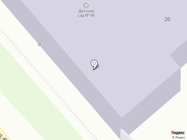 Детский сад №48 на карте Иваново
