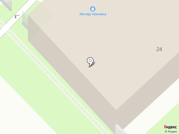 Интер-Техника-Плюс на карте Иваново