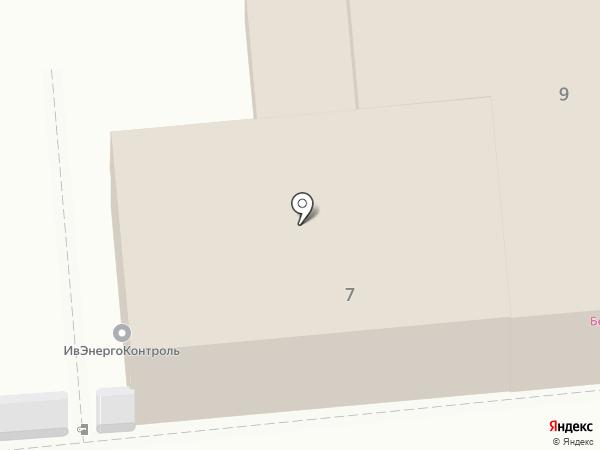 Нотариус Бурлакова И.А. на карте Иваново