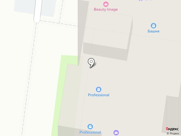 Ателье Кашинцевой Валентины на карте Иваново