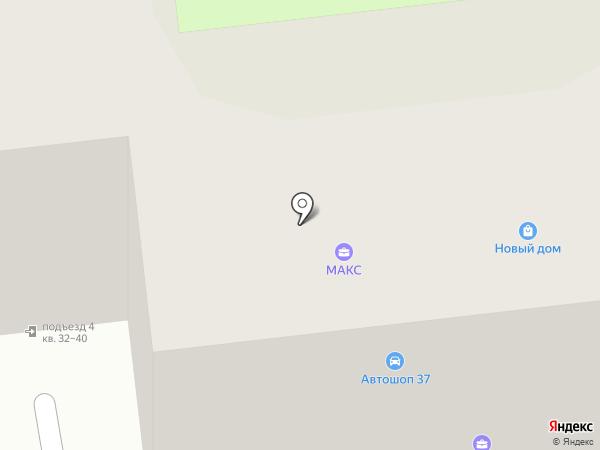 Новый дом на карте Иваново
