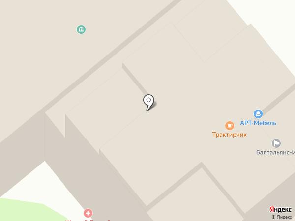 Тенториум на карте Иваново