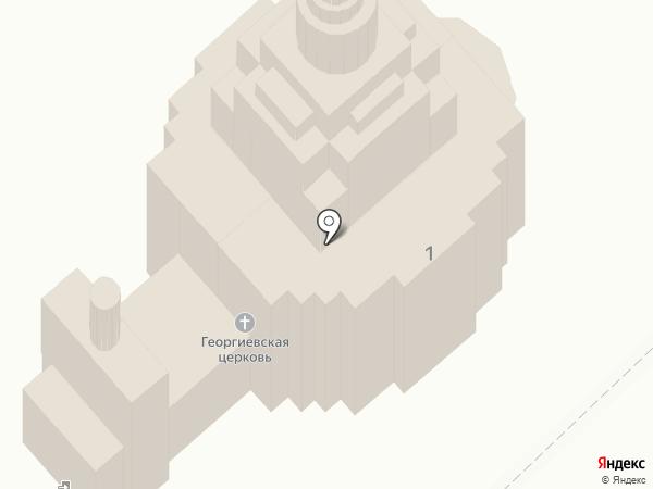 Храм в честь Георгия Победоносца на карте Иваново