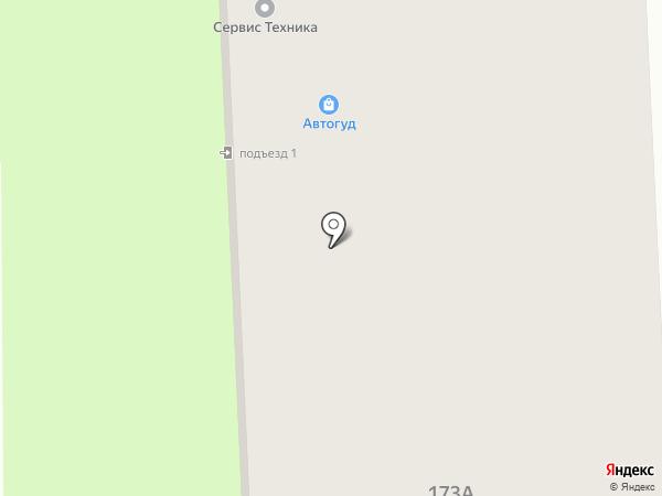 Магазин мебельной фурнитуры и посуды на карте Иваново