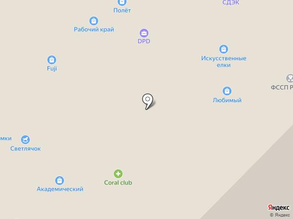 Вязаный мир на карте Иваново