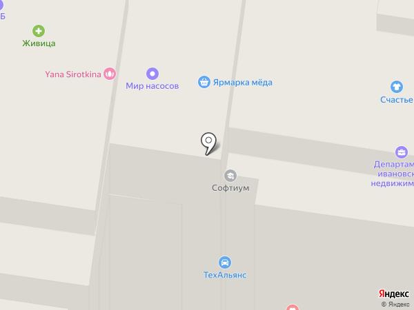 Мособлбанк, ПАО на карте Иваново