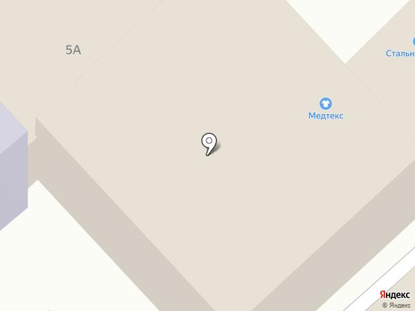 Клуб йоги и танца на карте Иваново