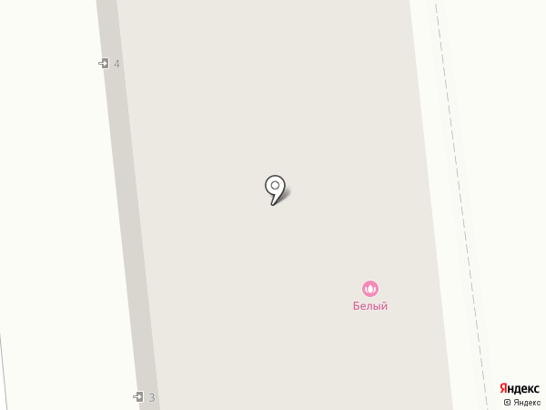 Белый на карте Иваново