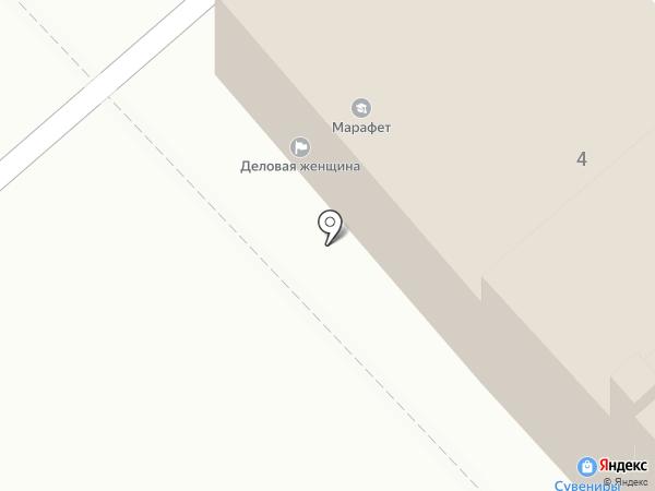 Деловая женщина на карте Иваново