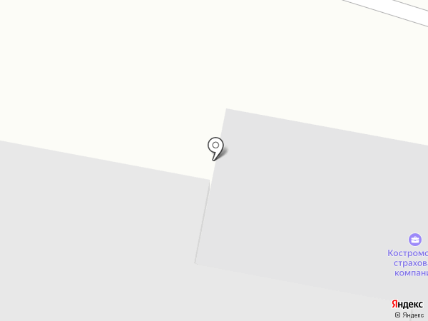 Белый Бриллиант на карте Костромы