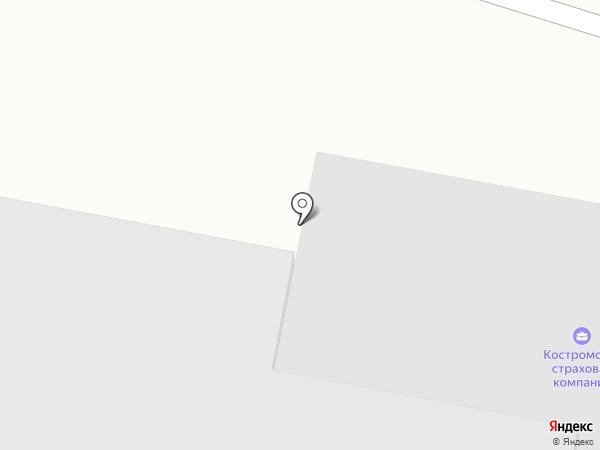 Автоэлемент на карте Костромы