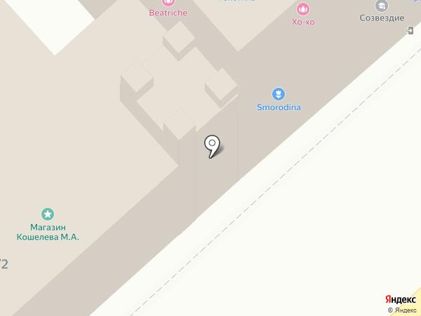 Выхухоль на карте Иваново
