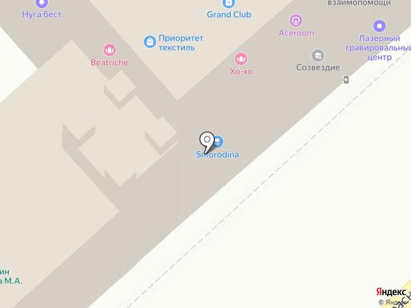 Кутюр на карте Иваново