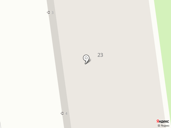 Десница на карте Иваново