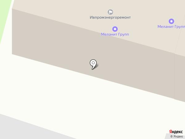 Ивпромэнергоремонт на карте Иваново