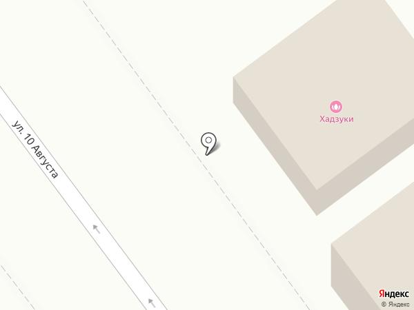 Хадзуки на карте Иваново