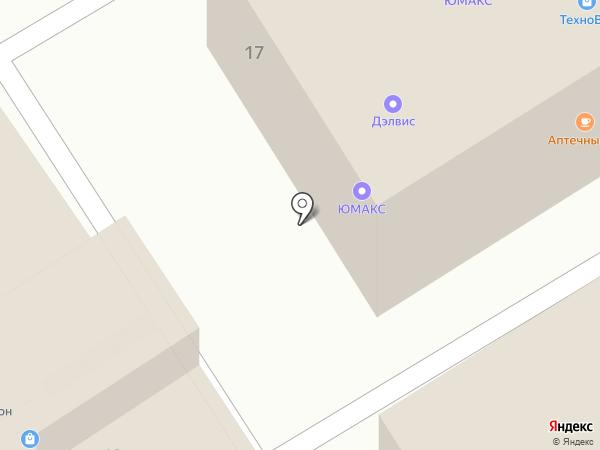 Юмакс на карте Иваново