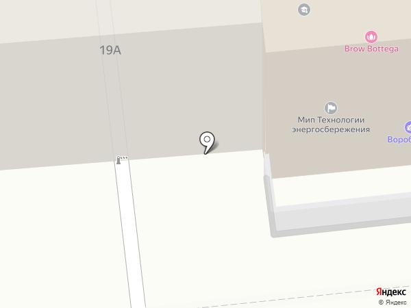 Агма на карте Иваново