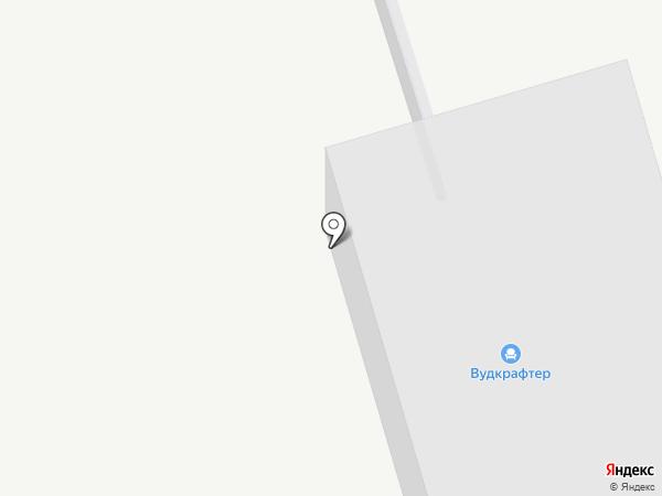 Вудкрафтер на карте Костромы