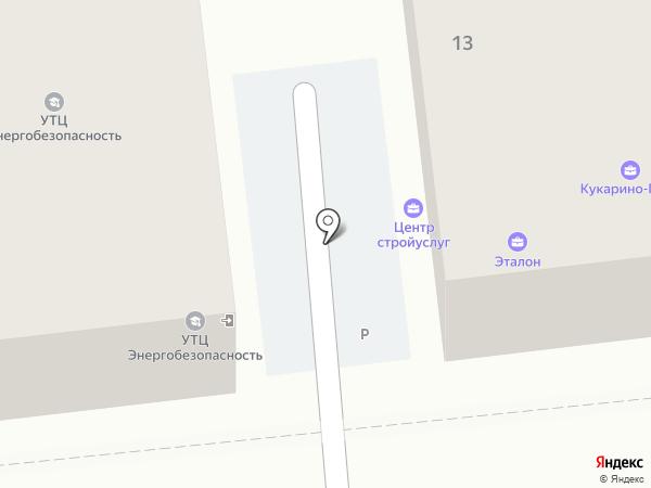 Центр Строительных Услуг на карте Иваново