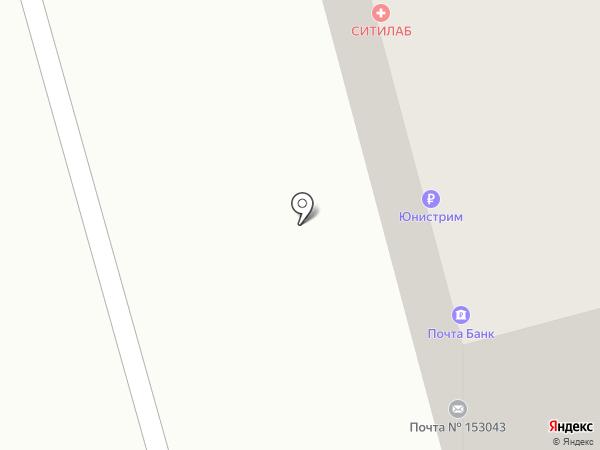 Почтовое отделение №43 на карте Иваново