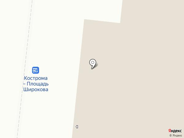 Банкомат, Россельхозбанк на карте Костромы